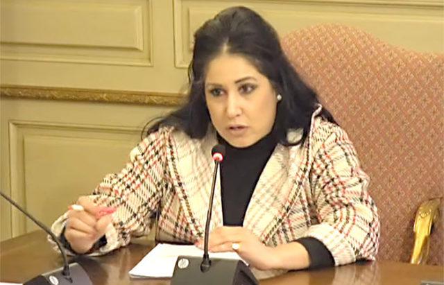 Verónica Gormedino interviene en el pleno del ayuntamiento de Tudela